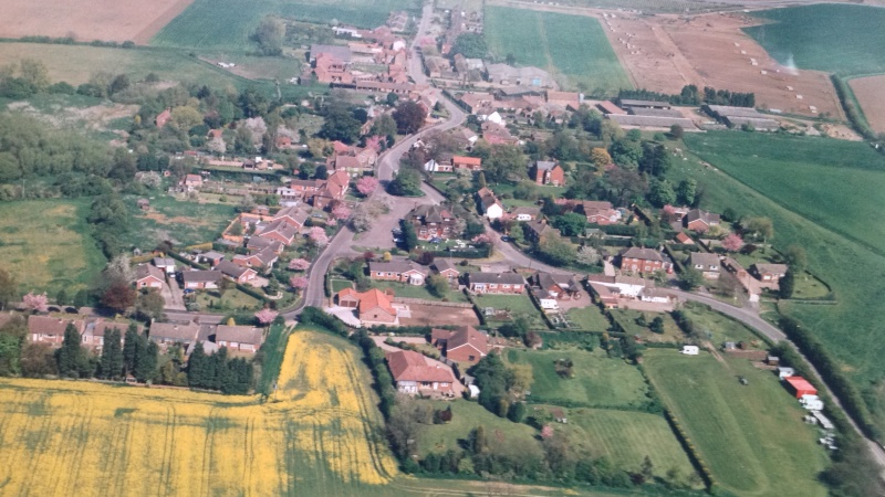 Flixborough Parish Council Arial Image